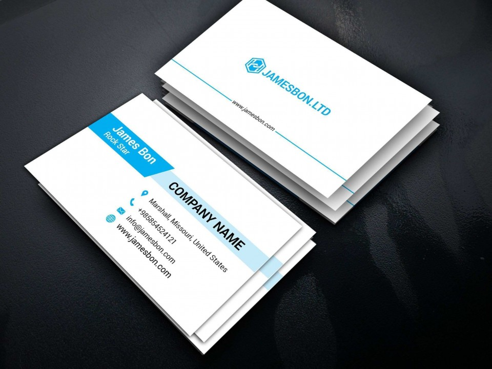 003 Outstanding Staple Busines Card Template Highest Clarity  Word Brand Heavyweight960