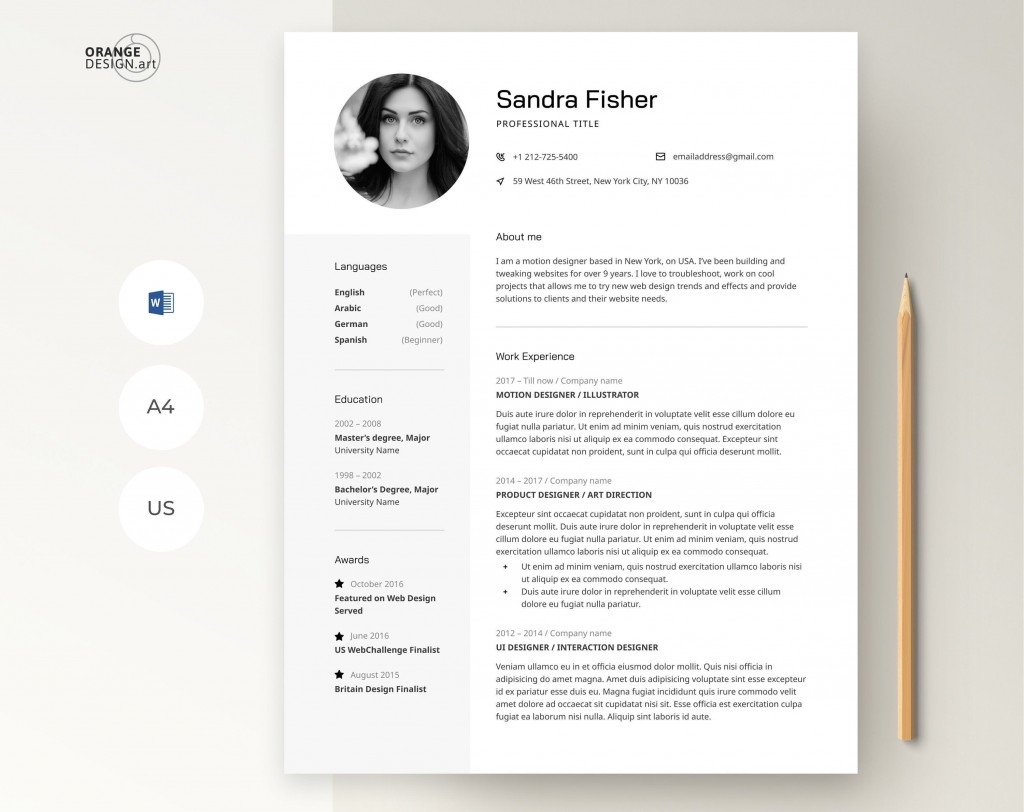003 Outstanding Teacher Resume Template Microsoft Word 2007 Concept Large