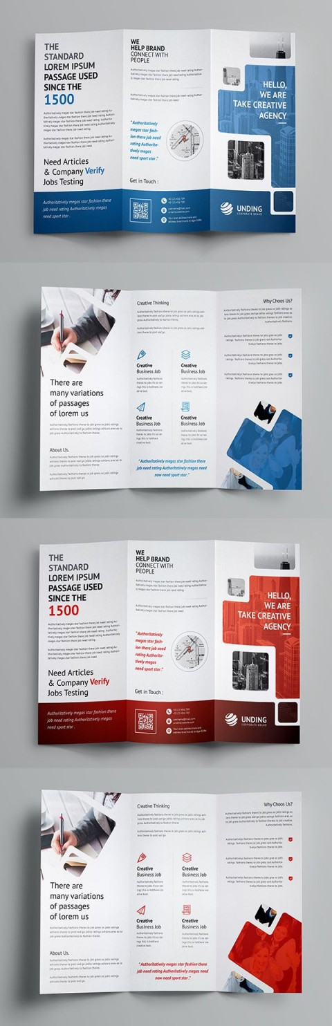 003 Outstanding Three Fold Brochure Template Sample  Word Free 3 Psd Download480