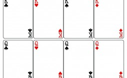 003 Phenomenal Blank Playing Card Template Word High Resolution