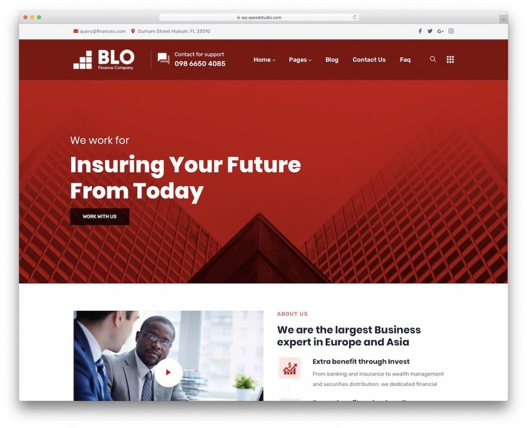 003 Phenomenal Bootstrap Responsive Professional Website Template Free Download Idea Large