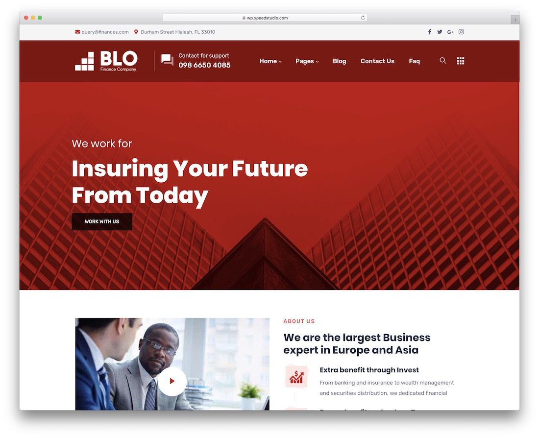 003 Phenomenal Bootstrap Responsive Professional Website Template Free Download Idea Full