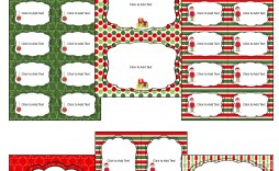 003 Phenomenal Christma Label Template Word High Resolution  Microsoft Mailing