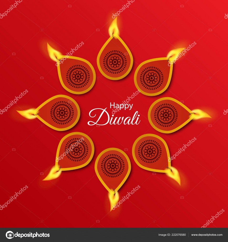 003 Phenomenal Diwali Party Invite Template Free Photo
