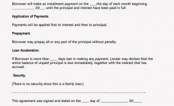 003 Phenomenal Family Loan Agreement Template Pdf Design  Free