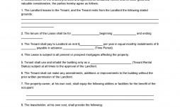 003 Phenomenal Flat Rental Contract Template Free Photo