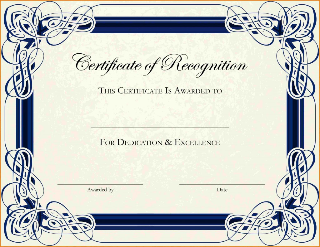 003 Phenomenal Free Printable Certificate Template Photo  Templates Blank Downloadable ParticipationLarge