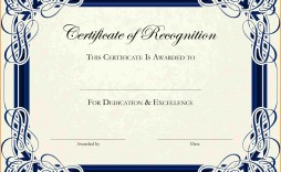 003 Phenomenal Free Printable Certificate Template Photo  Templates Blank Downloadable Participation