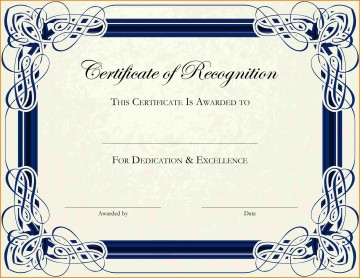 003 Phenomenal Free Printable Certificate Template Photo  Blank Gift For Word Pdf360