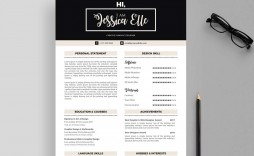 003 Phenomenal Free Printable Resume Template Download Highest Quality