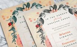 003 Phenomenal Photoshop Wedding Invitation Template Idea  Templates Hindu Psd Free Download Card