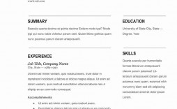 003 Phenomenal Resume Template Word 2016 Photo  Cv Professional