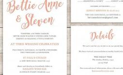 003 Phenomenal Sample Wedding Invitation Template Concept  Templates Wording Card