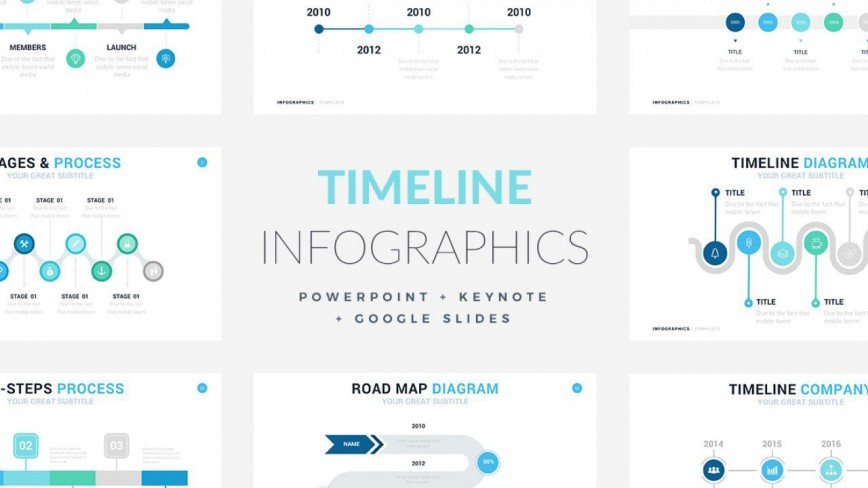 003 Phenomenal Timeline Infographic Template Powerpoint Download Highest Quality  Free868