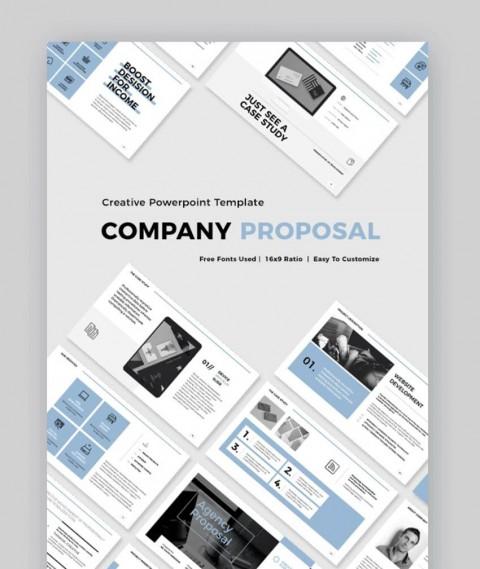 003 Phenomenal Web Development Proposal Template Free Idea 480
