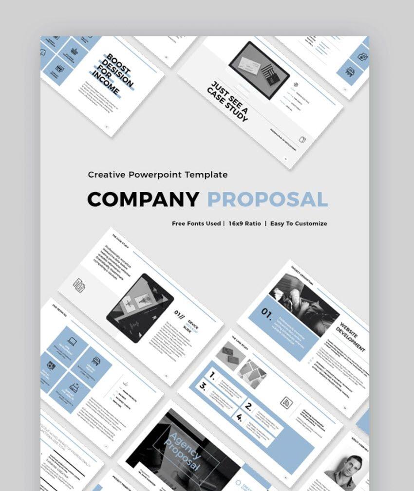 003 Phenomenal Web Development Proposal Template Free Idea Full