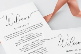 003 Phenomenal Wedding Hotel Welcome Letter Template Idea