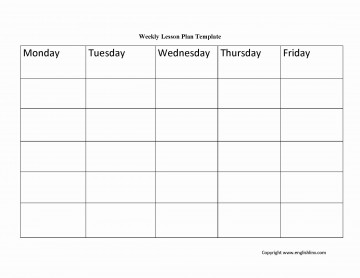 003 Phenomenal Weekly Lesson Plan Template Pdf Example  Blank360