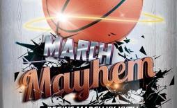 003 Rare Basketball Tournament Flyer Template Design  Word Free