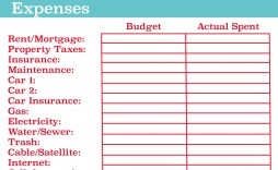 003 Rare Blank Monthly Budget Worksheet Photo  Worksheets Printable Free Spreadsheet