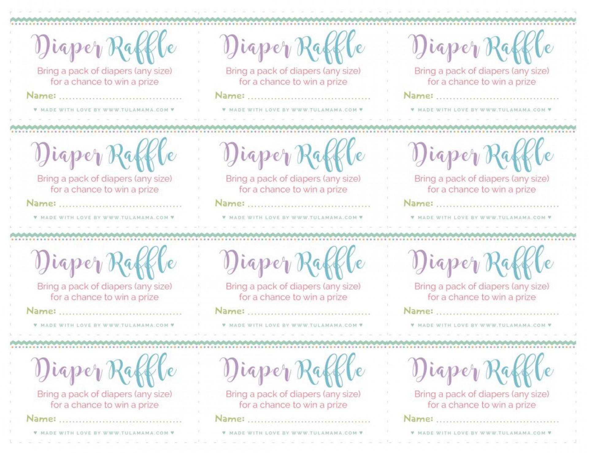 003 Rare Diaper Raffle Ticket Template High Def  Boy Free Printable Print Black And White1920