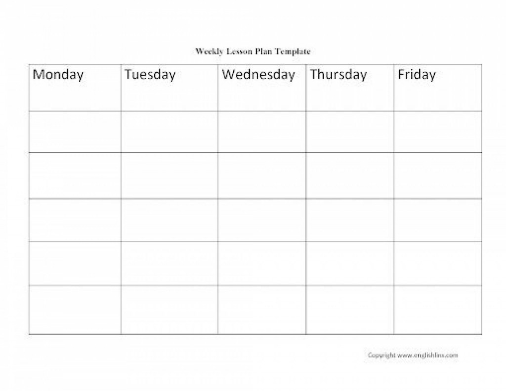 003 Rare Free Printable Lesson Plan Template Blank Design  FormatLarge