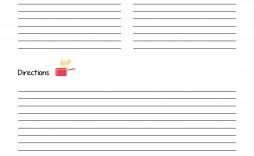 003 Rare Free Recipe Book Template Sample  Editable Cookbook For Microsoft Word Indesign