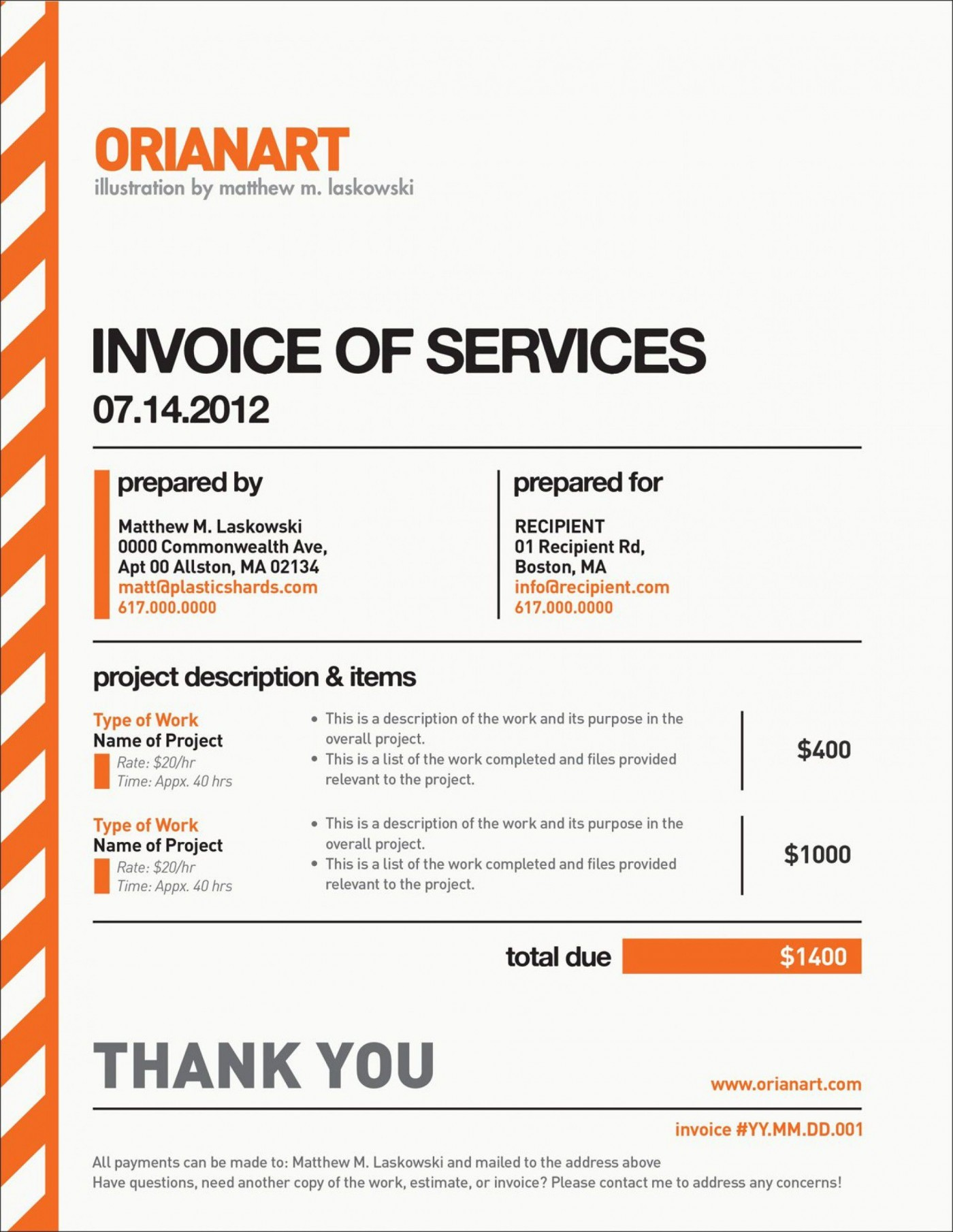003 Rare Freelance Graphic Design Invoice Example Inspiration  Contract Template Sample1400
