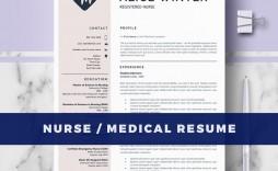 003 Rare Nurse Resume Template Word Design  Cv Free Download Rn