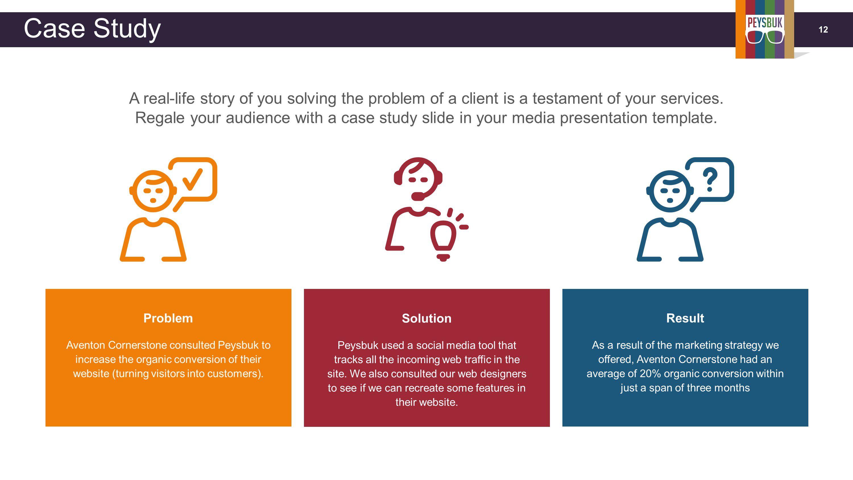 003 Rare Social Media Strategy Powerpoint Template Idea  Marketing Plan FreeFull