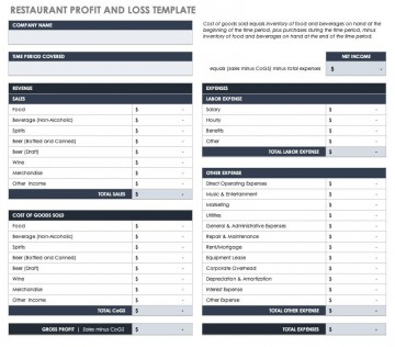 003 Remarkable Basic Profit And Los Template High Resolution  Free Simple Form Statement Excel For Self Employed360