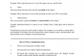 003 Remarkable Classification Essay Example  About Type Of Food Topic