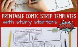 003 Remarkable Comic Strip Template Word Doc Sample
