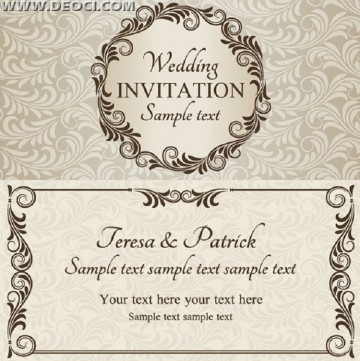 003 Remarkable Free Download Invitation Card Design Example  Birthday Party Blank Wedding Template Software360
