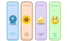 003 Remarkable Free Printable Bookmark Template Example  Templates Download Photo For Teacher