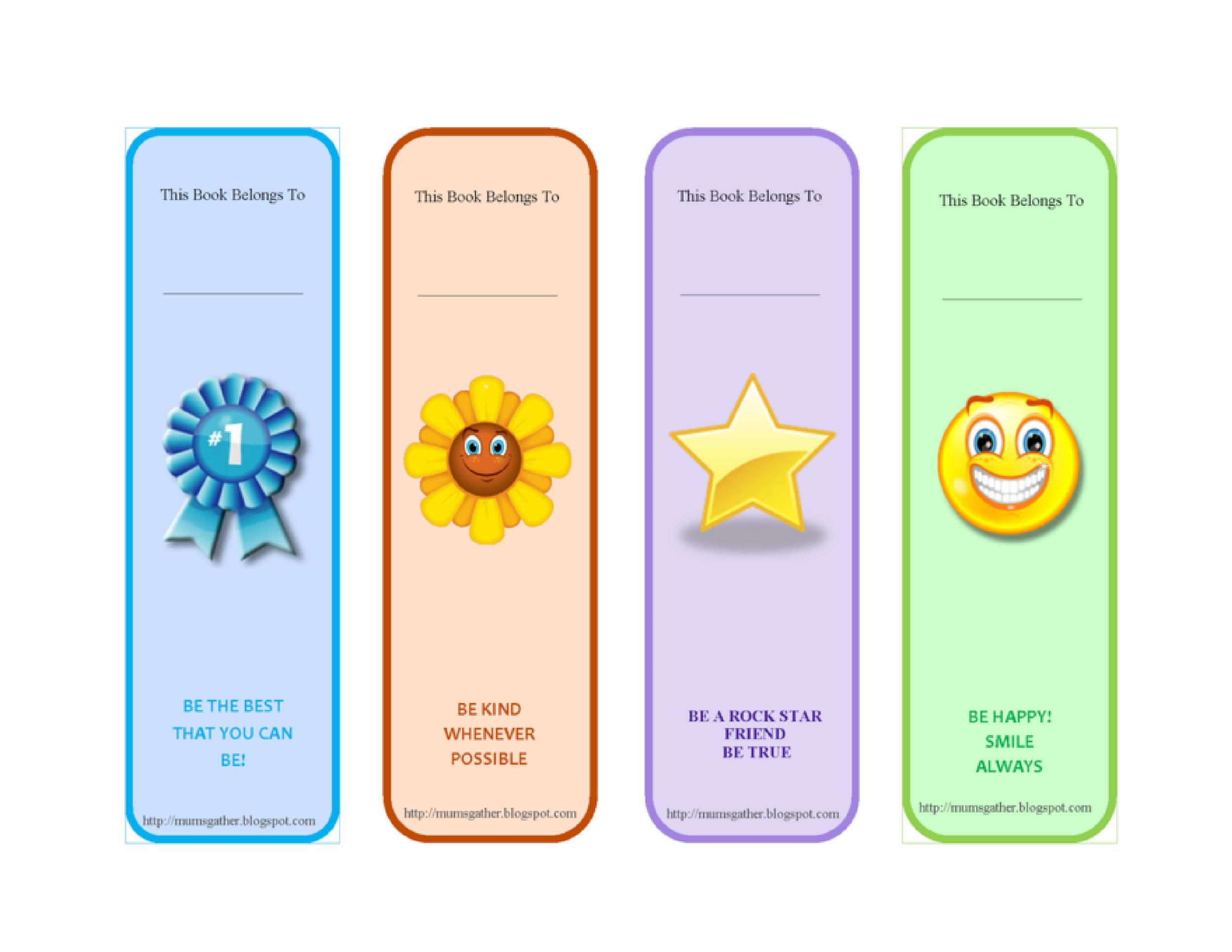 003 Remarkable Free Printable Bookmark Template Example  Templates Download Photo For TeacherFull