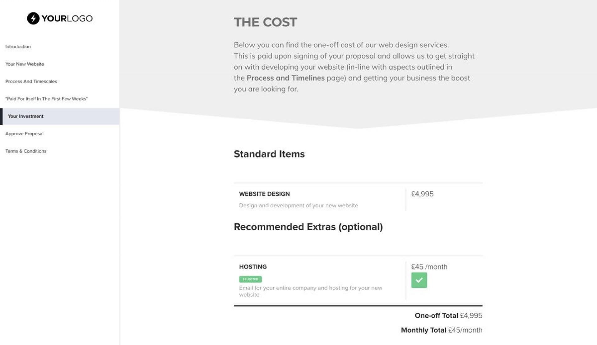 003 Remarkable Freelance Website Design Proposal Template Concept 1920