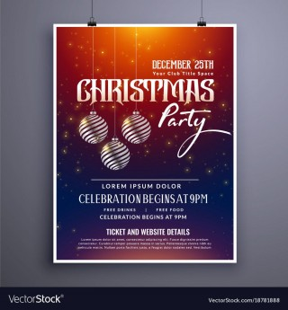 003 Remarkable Holiday Party Invitation Template Free Photo  Elegant Christma Download Dinner Printable Australia320