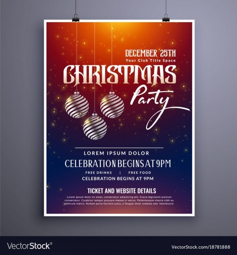 003 Remarkable Holiday Party Invitation Template Free Photo  Elegant Christma Download Dinner Printable Australia480