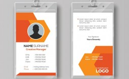 003 Remarkable Id Card Template Free Download Highest Clarity  Design Photoshop Identity Student Word