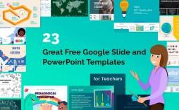 003 Remarkable Ppt Template For Teacher Highest Clarity  Teachers Free Download Powerpoint Education Kindergarten