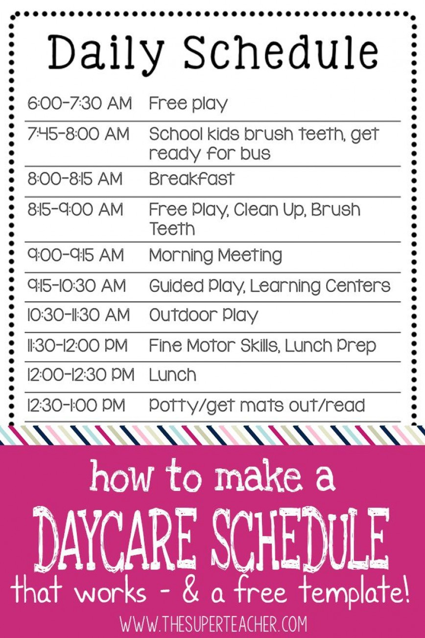 003 Remarkable Preschool Daily Schedule Template High Def  Lesson Plan Pdf Planner