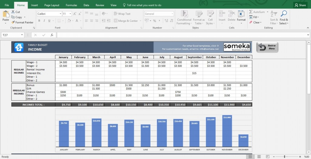 003 Sensational Budget Template In Excel Photo  Layout 2013Large