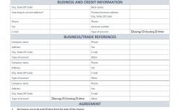 003 Sensational Busines Credit Application Form Template Idea  Account Uk Australia Canada
