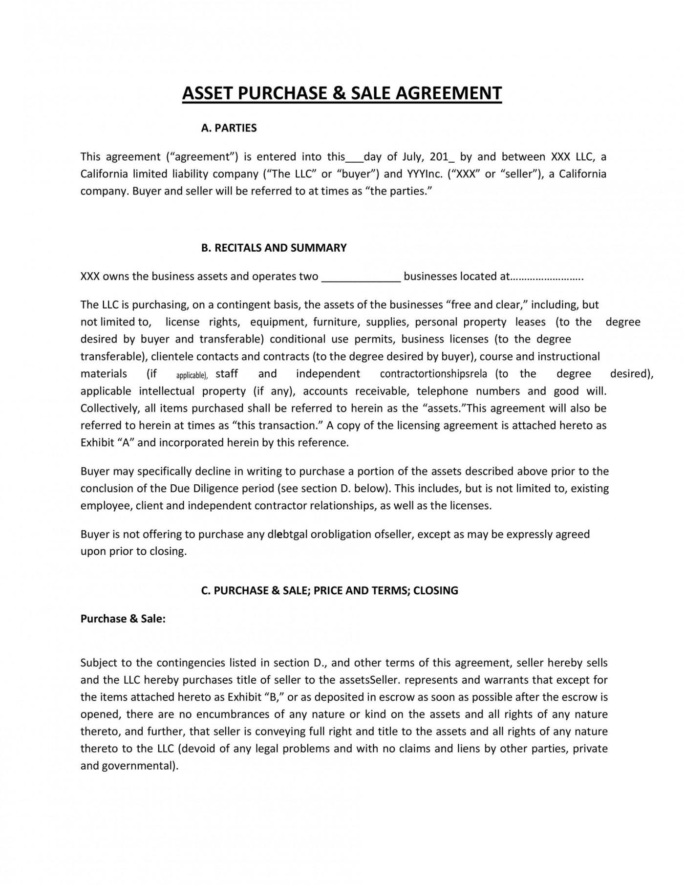 003 Sensational Buy Sell Agreement Llc Sample Picture 1400