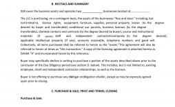003 Sensational Buy Sell Agreement Llc Sample Picture