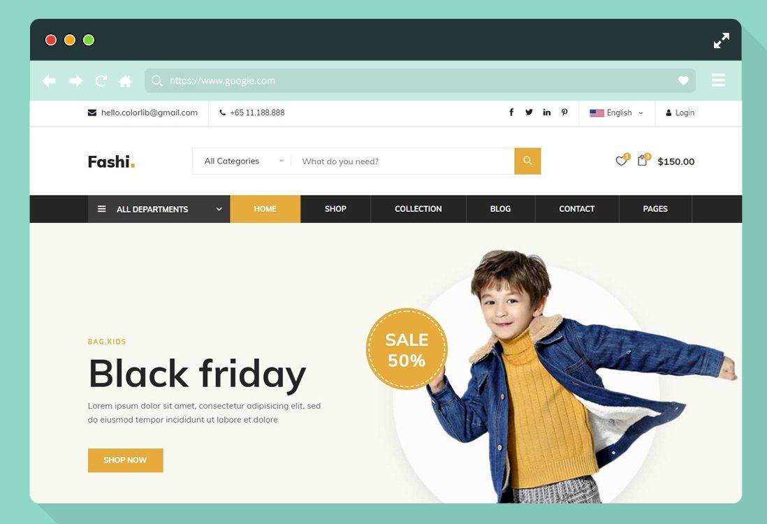 003 Sensational Ecommerce Website Template Html Free Download Sample  Bootstrap 4 Responsive With Cs JqueryFull