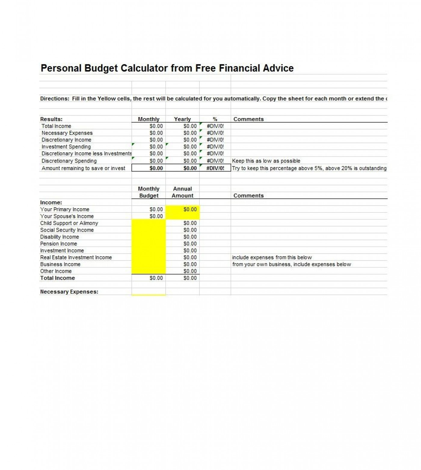 003 Sensational Free Monthly Budget Template Download High Resolution  Excel Planner1400