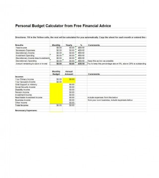 003 Sensational Free Monthly Budget Template Download High Resolution  Excel Planner320