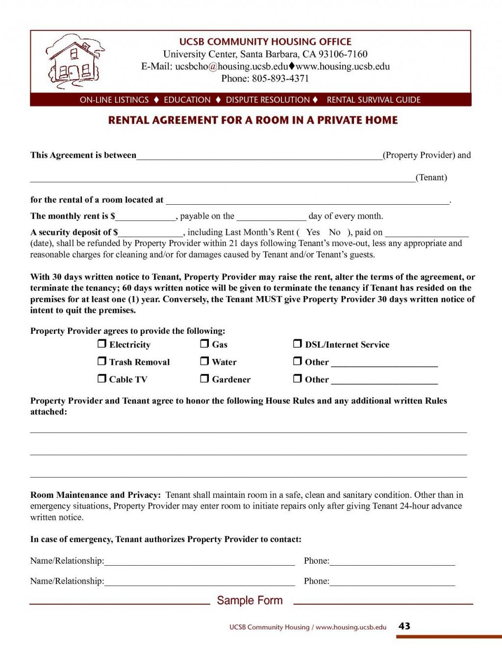 003 Sensational House Rental Agreement Template Inspiration  Home Free Ireland FormLarge